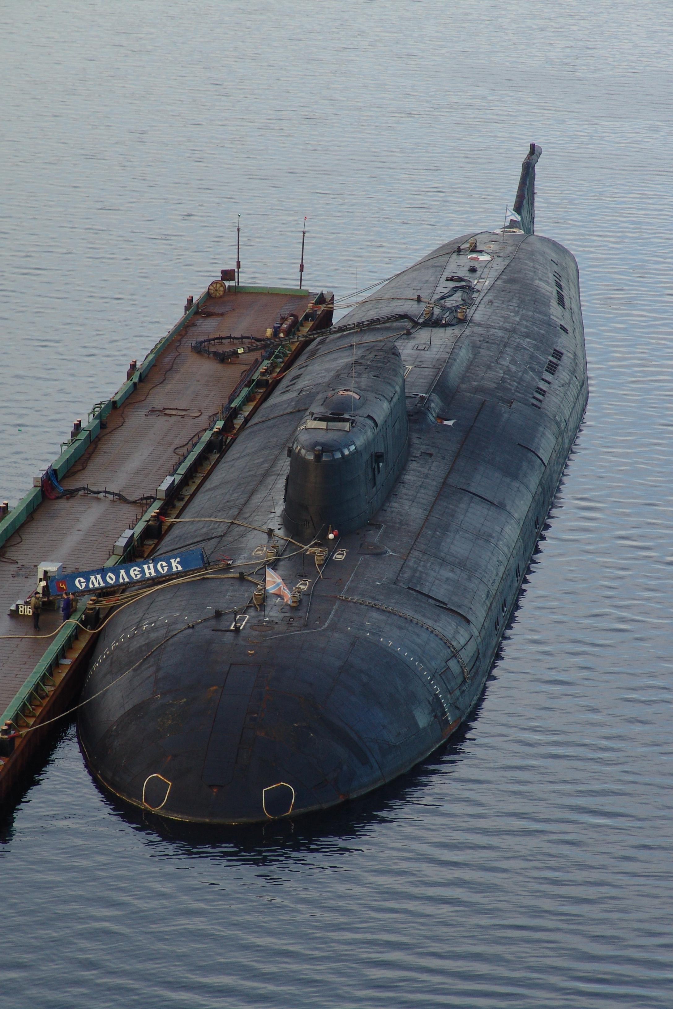 где в россии стоят подводные лодки