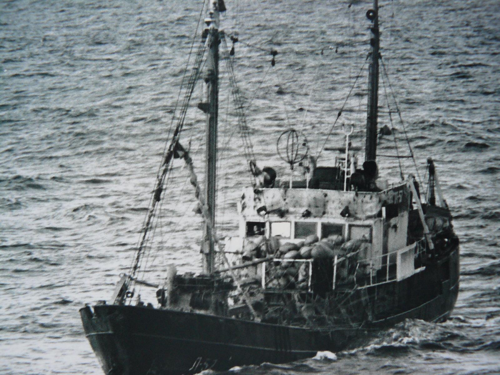 аварии рыболовного флота