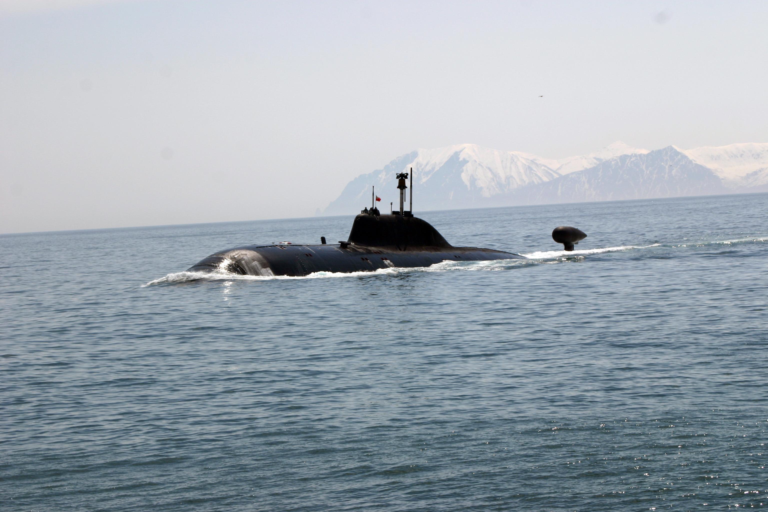 подводные лодки 971 фото