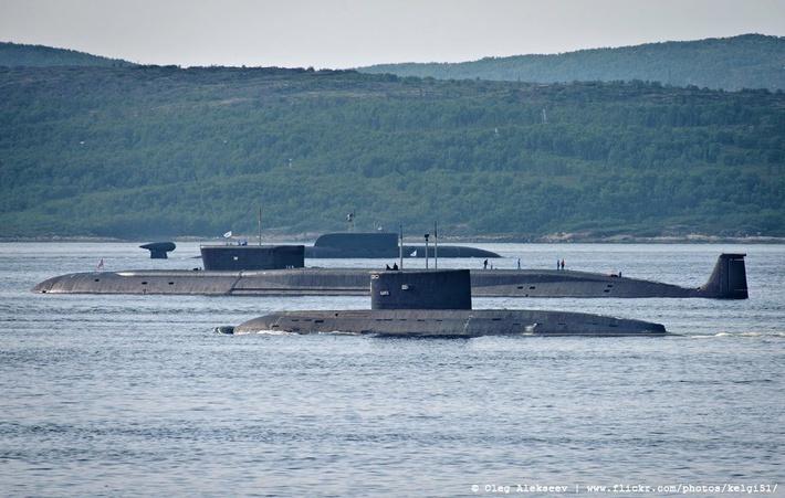 флот подводных лодок россии