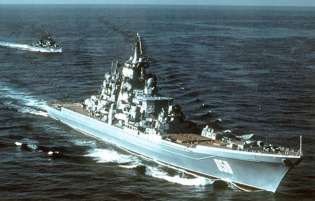 ракетный крейсер киров фото