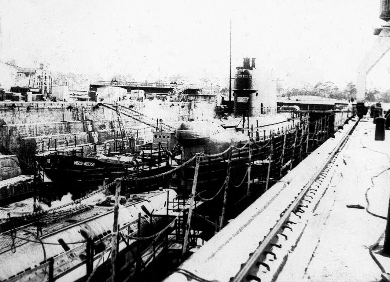 22 бригада подводных лодок лиепая
