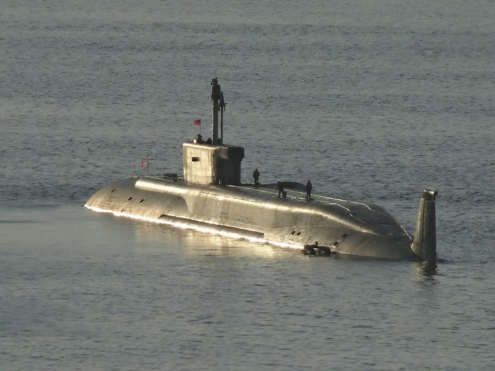 подводная лодка в манхеттене