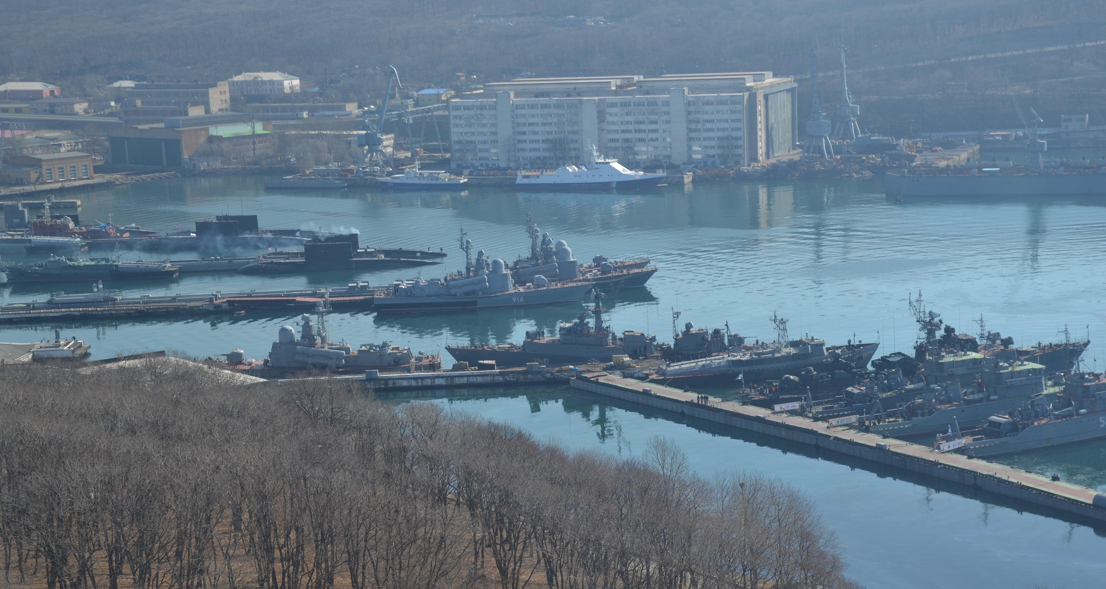 база подводных лодок в бухте улисс