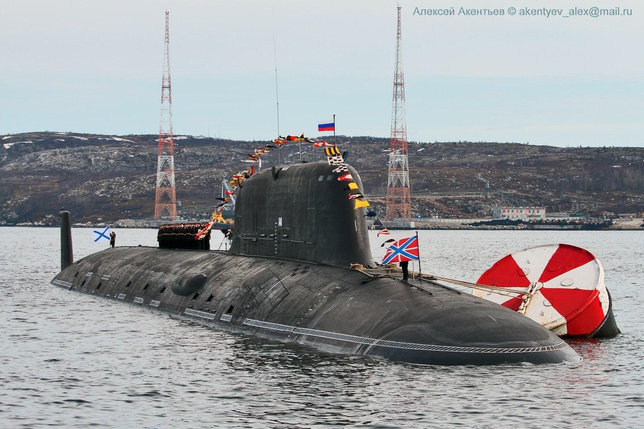 подводные лодки проекта ясень фото