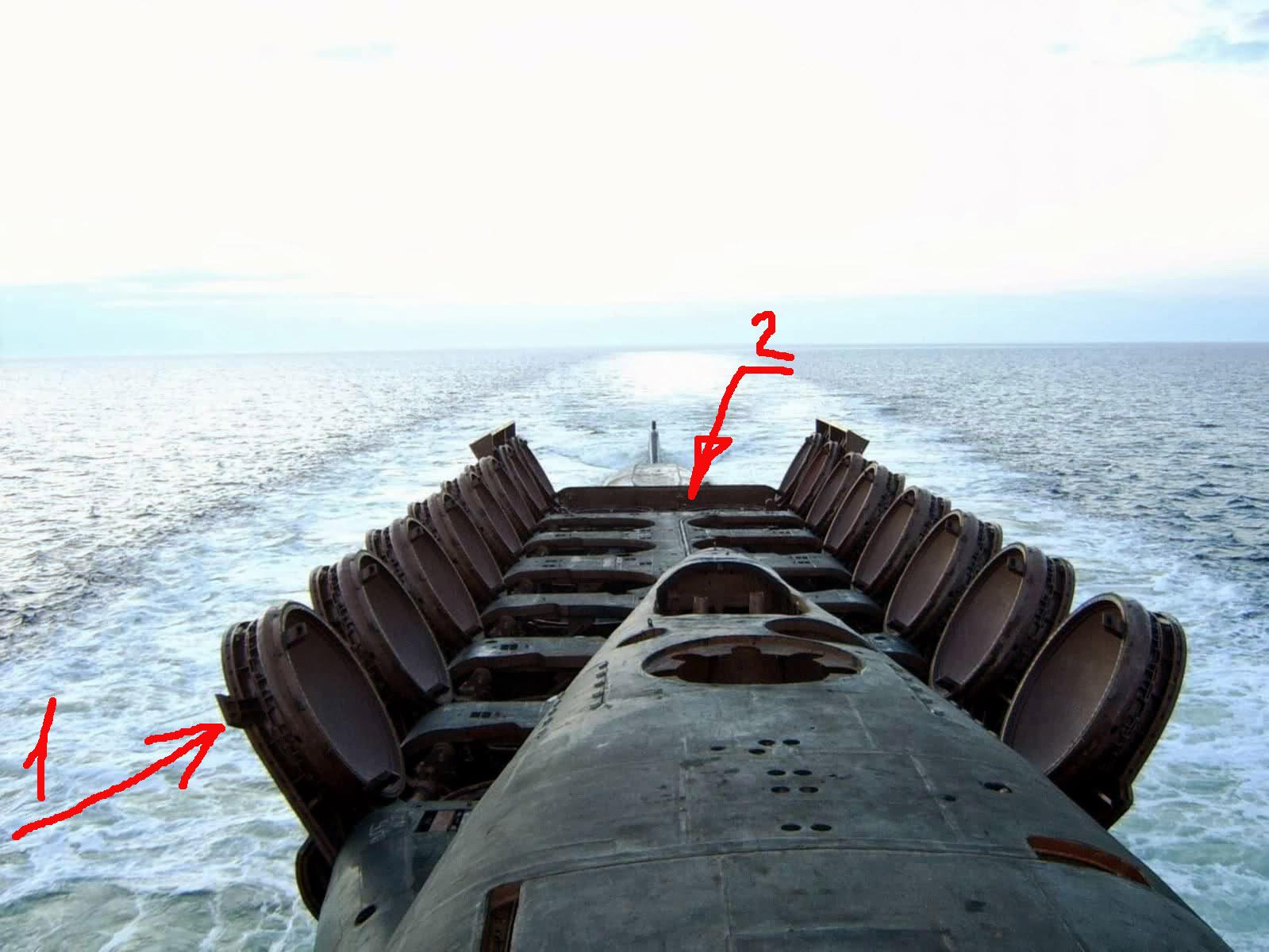 у подводных лодок есть ракеты