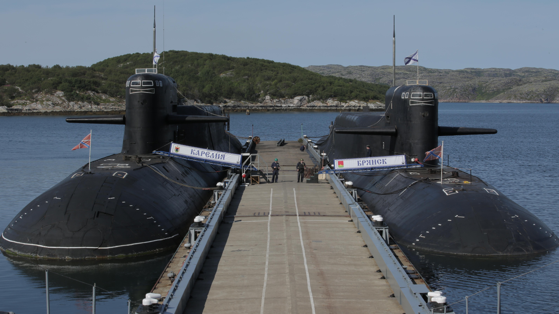подводные лодки на базе