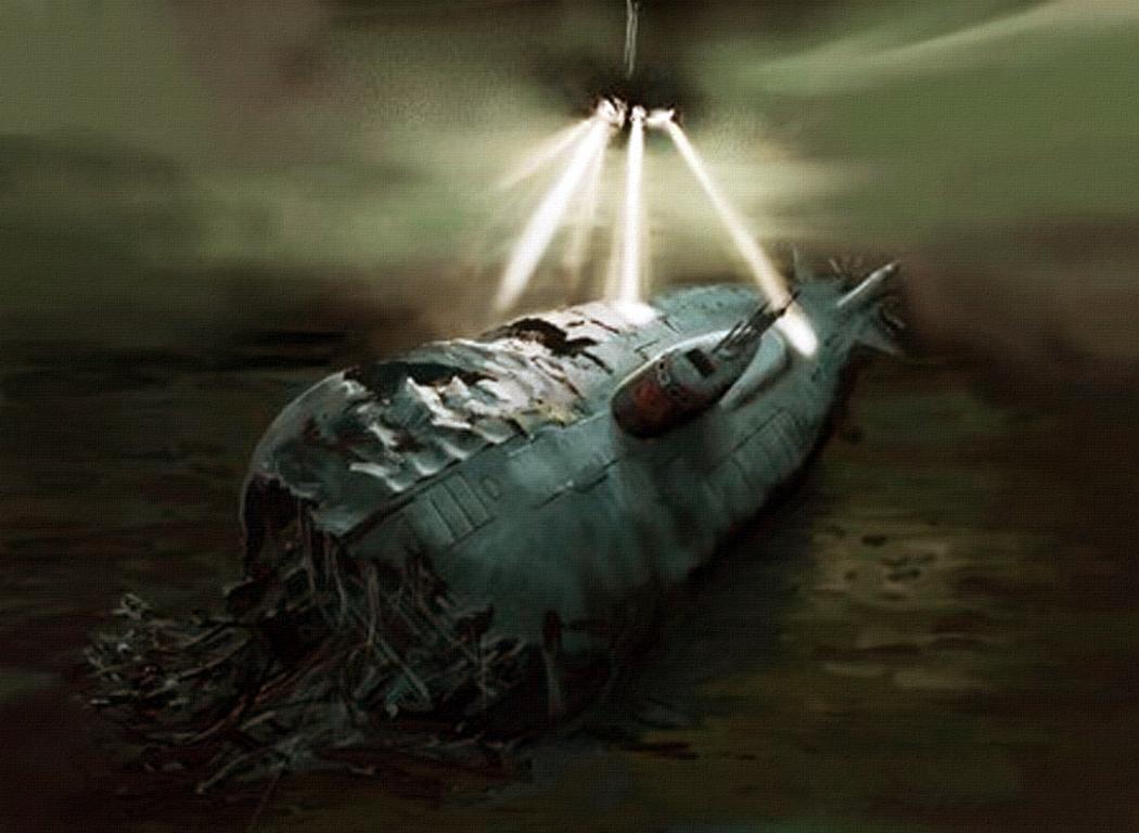 гибель лодки трешер