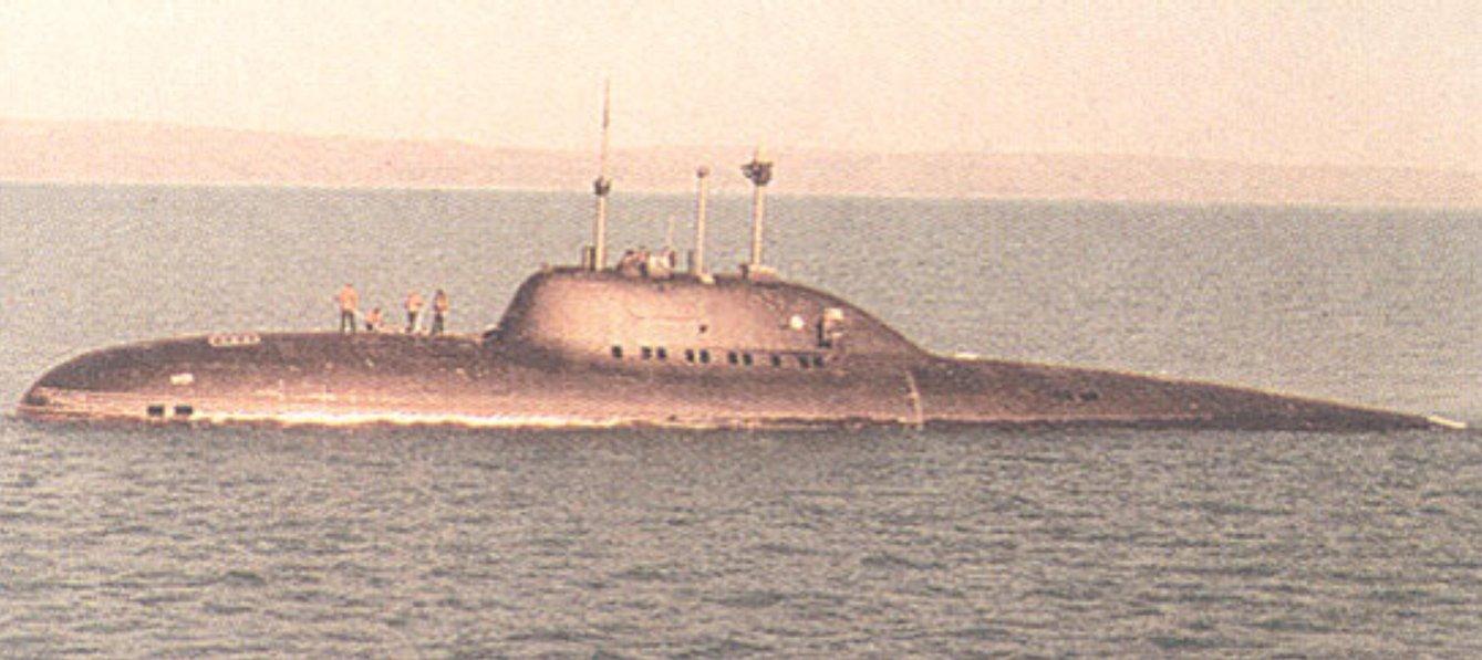 подводная лодки ссср лира
