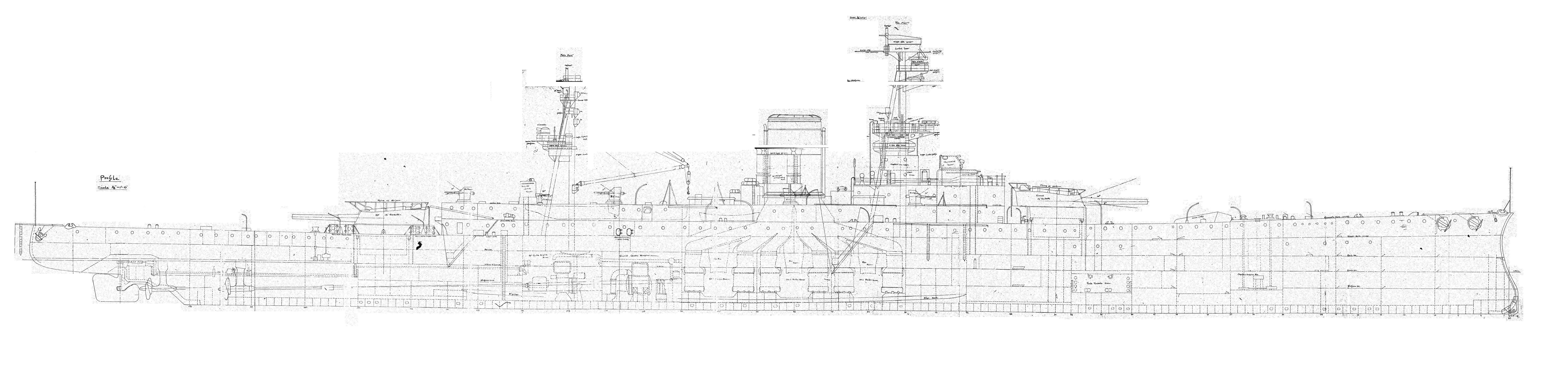 схема чертёж крейсера сума