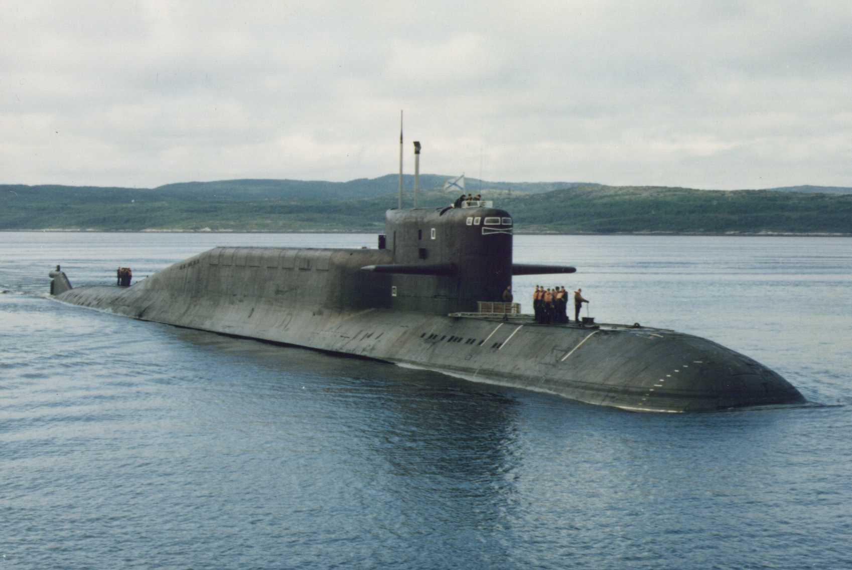 подводные лодки 667 проекта северного флота
