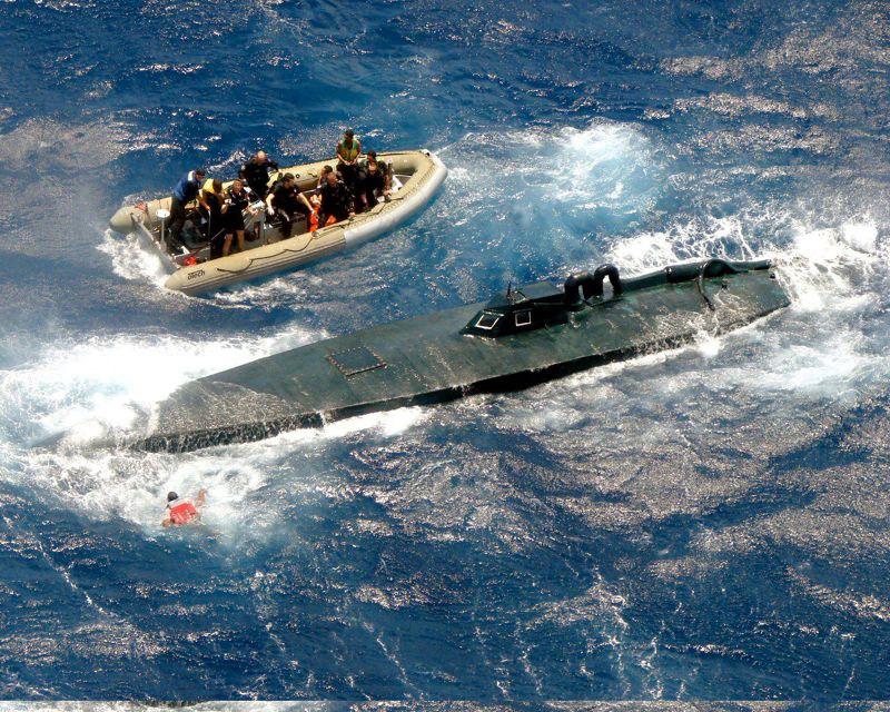колумбийские подводные лодки