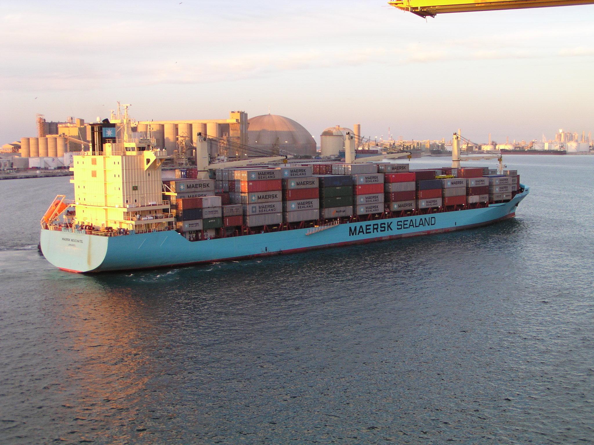 обучаться новому, мостик современного контейнеровоза фото всего